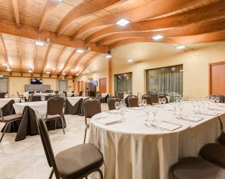 The fine dining restaurant at the Best Western Hotel Class in Lamezia Terme
