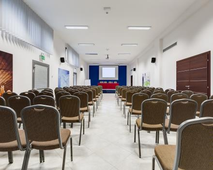 The meeting rooms of the best Western Hotel Class for your symposia in Lamezia Terme