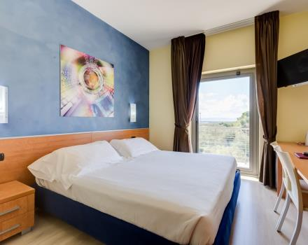 Total comfort in double rooms of the Best Western Hotel Class in Lamezia Terme