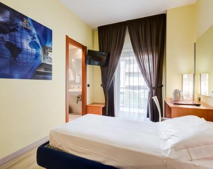 Single rooms perfect for business stays in Lamezia Terme